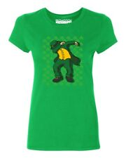 Dabbing Leprechaun with Shamrock Women's T-shirt St. Patrick's Day tee