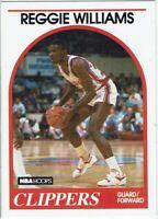 Trading Card Basketball Card NBA Hoops 1989 Reggie Williams