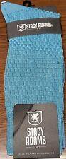 Men's Stacy Adams Dress Socks  ~ Turquoise