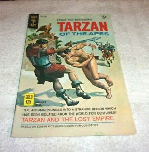 Old Golden Key Bronze Age Comic Book Tarzan Of The Apes # 194 1970 5.0