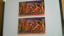 2x The Rolling Stones Stage official stickers.