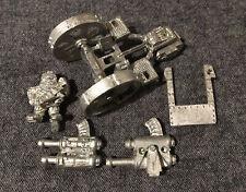 Warhammer 40k Squat Thudd Gun Space Dwarfs Rogue Trader Metal Oop Gw 88'