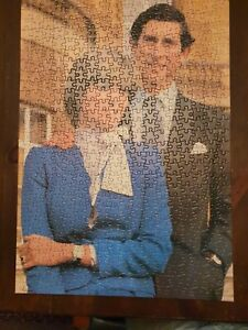 Prince Charles & Lady Diana Spencer The Royal Engagement 500 Piece Jigsaw Puzzle