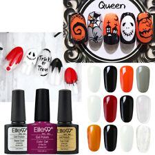 Elite99 UV Colour Gel Polish Halloween Gift Set Base Top Lacquer Nail Art DIY