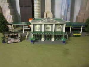 PLASTICVILLE O SCALE BUILDINGS, UNION STATION