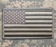 """Large 3""""x5"""" Usa Flag Backpack Socom Cag Navy Seal Nsw Acu Velcro® Brand Patch"""
