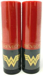 (2) Revlon Super Lustrous WW84 Lipstick New & Seled Pearl 300 - Coffee Bean