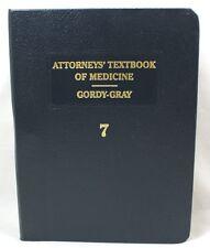 Attorneys' Textbook Of Medicine Third Edition Volume 7 Mathew Bender 1992