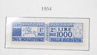 Italien Sammlung Paketmarken **/* mit der seltenen Mi-Nr. 81, Portomarken etc.