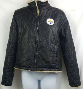 Pittsburgh Steelers G-III Apparel Women's Reversible Jacket (Size: Small)
