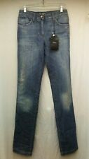 Dolce & Gabbana IT Size 40 / US Size 4 Distressed Blue Jeans New NWT