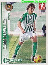 347 ANDRE CARVALHAS PORTUGAL RIO AVE.FC STICKER FUTEBOL 2009 PANINI