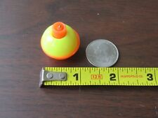 "200 1"" FISHING BOBBERS Round Floats Yellow / Orange SNAP ON FLOAT Bulk Pack"
