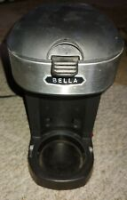 Coffee Maker Bella 1 Cup Black with Reusable Filter