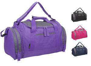 Ladies & Girls Sports & Gym Holdall Bag  TRAVEL WORK SPORT LEISURE CASUAL SCHOOL