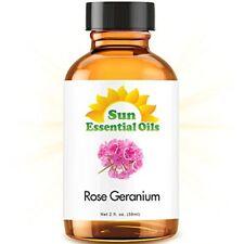 Best Rose Geranium Essential Oil 100% Purely Natural Therapeutic Grade 2oz