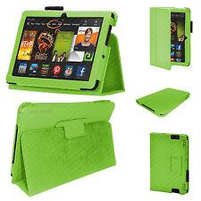 Kindle Fire i transponder HDX 7 Custodia / magnetica Folio PU Pelle / Verde