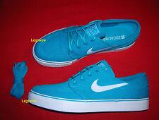 Nike Zoom Stefan Janoski Neo Turquoise Blue White Mens 10 Skateboarding Casual