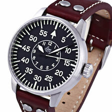 Laco Aachen Type-B Dial Miyota Automatic Pilot Watch, Sapphire Crystal #861690