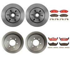 Front Rear Brembo Full Brake Kit Ceramic Pads Disc Rotors For Ford F-150 Mark LT