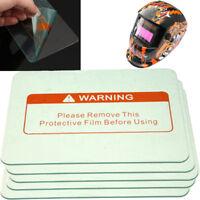 5pcs 4.5'' x 3.5'' Clear Safe Welding Cover Lens Splash Protect Welding Helmet