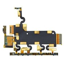 For Sony Xperia Z1 Power Flex Cable Replacement Side Buttons & Mic L39h C6903