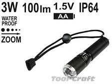 Yato professional pocket torch with high power CREE 3W diode, zoom (YT-08571)