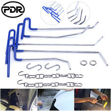 PDR 11x Spring Steel Rods Paintless Dent Removal Repair Tools Hail Damage Repair