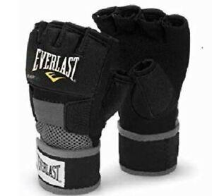 Evergel Boxing Hand Wraps Gloves Black Large - New