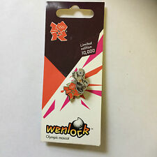 London 2012 Olympic Pin Badges - Spring Wenlock - New