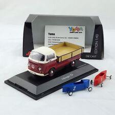 Schuco 1/43 Volkswagen T2a Westfalia Pick Up 2 soap boxes 450333800