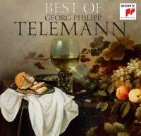 GEORG PHILIPP TELEMANN - BEST OF  2 CD NEW+