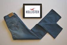 BNWT Hollister Cropped Skinny Jeans Blue Distressed Salt Washed Womens W24 L26