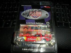 ACTION RACING PLATINUM AUTO 1:64 McDonalds 1997 Funny Car Cruz Pedregon Signed