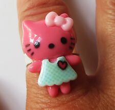 Kawaii *Hello Kitty* adjustable ring