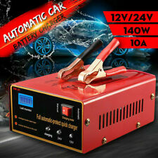 Maintenance-free Battery Charger 12V/24V 10A 140W Output For Electric Car I6F9
