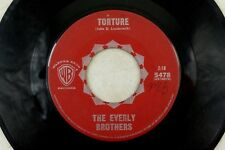 The Everly Brothers - Import Rockabilly Warner Bros. 45 RPM - Torture/  B2