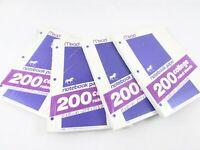 Vintage Mead Notebook Paper College Ruled Purple Unicorn Logo Lot (4) 200 Ct Pkg