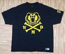 The Big Show WMD WWE Authentic Shirt ~ Men's 2XL XXL ~ Black The Giant WCW SS