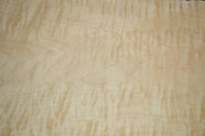 Curly Maple Raw Wood Veneer 7 Sheets at  9 x 36 inches 1/42nd thick    ST6771-34