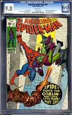 AMAZING SPIDER-MAN #97 AWESOME GOBLIN COVER CGC 9.8  WHITE PAGES
