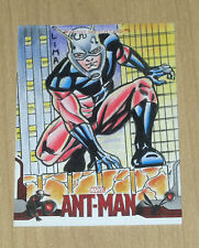 2015 Upper Deck Marvel Ant-Man sketch card Cleber Lima 1/1