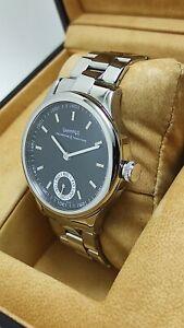 Eberhard & Co. Traversetolo 21016 VZ Steel Wrist Watch
