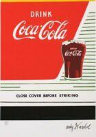 Andy Warhol - Coca cola - firmada y numerada