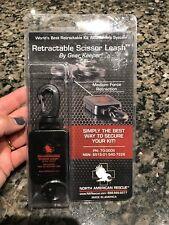 Retractable Scissor Shear Leash Gear Keeper Medium Force Retraction