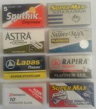 Razor blade mixed sample pack (50 best quality -Mild- Double edge blades)