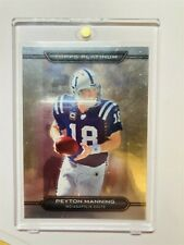 New listing 2010 Topps Platinum Peyton Manning Indianapolis Colts #1 326