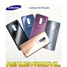 Tapa Trasera Bateria Para Samsung Galaxy S9 G960 S9+ S9 Plus G965 Adhesivo Oro