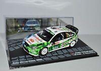 RALLY IXO DIECAST 1/43 FORD FOCUS WRC Galli - Bernacchini 2008 eRAL101