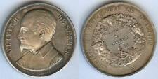 Médaille de prix-  ALLIER société agriculture prix volailler 1858 FOUCRIER argen